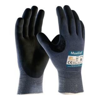 Schnittschutzhandschuhe MaxiCut Ultra 44-3745 Gr.11 blau/schwarz EN 388 Kat.II
