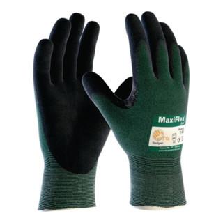 Schnittschutzhandschuhe MaxiFlex Cut 34-8743 Gr.7 grün/schwarz EN 388 Kat.II