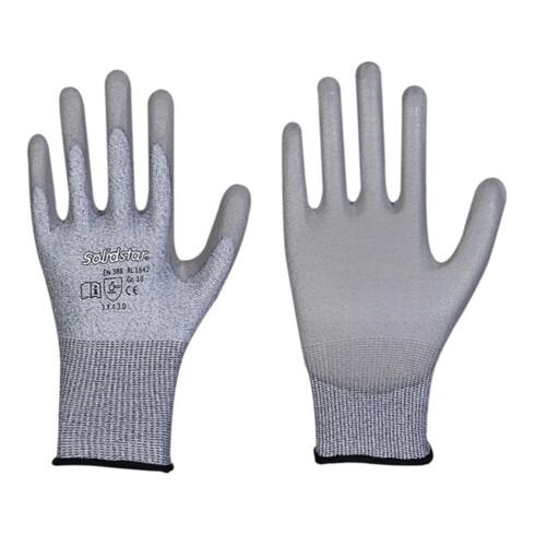 Schnittschutzhandschuhe Solidstar 1642 Gr.9 grau EN 388 PSA II 12