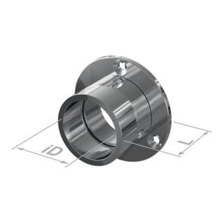 Schrankrohrlager 11210 MS vern.Wandmont.D.25mm