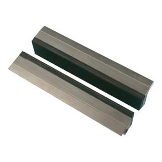 Schraubstockschutzbacken m. Gummibelag, 100 mm Backenbreite, Spannen von dünnwän