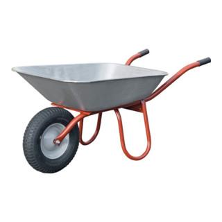 Schubkarre Carry B400xD100mm Luftrad Stahlblechfelge mit Kunststoffgleitlager