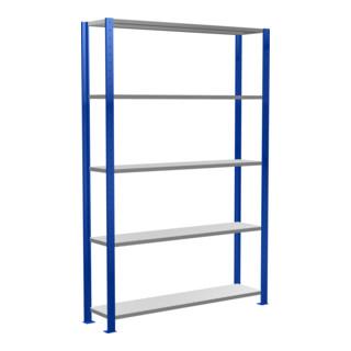 Schulte Grundregal Steckregal MULTIplus150 RAL 5010 enzianblau/verzinkt