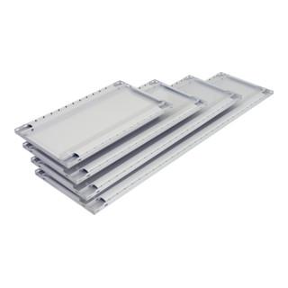 Schulte Zusatz-Fachboden MULTIplus150 1000 x 500 RAL 7035 lichtgrau inkl. 4 Fachbodenträgern