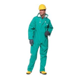 Schutzanzug decontex® P 100 Gr.XXL grün Kat.III DECONTEX