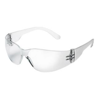 Schutzbrille 568H Bügel u.Gläser klar Anti-Kratz komplett aus Polycarbonat EN166