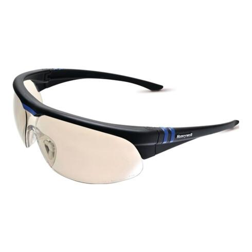 Schutzbrille Millennia 2G EN 166 Bügel schwarz,Scheibe silber (I(O)