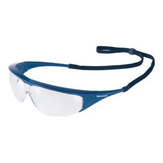 Schutzbrille Millennia Rahmen blau Fogban-Scheibe klar m.Flexicordband EN166