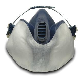 Schutzflies 400 f.Farbspritzer zumSchutz der Maske f.Art.-Nr. 4000370670/-672 3M