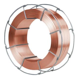 Schutzgasschweißdraht G3Si1 (SG 2)1,2mm verkupfert lagengespult K-300 15kg Spule