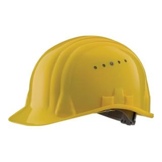 Schutzhelm Baumeister 80/6 gelb EN397 SCHUBERTH 6Pkt-Gurtband