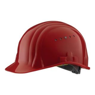 Schutzhelm Baumeister 80/6 rot EN397SCHUBERTH 6Pkt-Gurtband