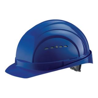 Schutzhelm Eurogard 6 blau PE EN397 gr.Stirnfläche SCHUBERTH 6Pkt-Gurtband