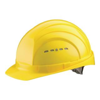 Schutzhelm Euroguard 4 gelb PE EN397 gr.Stirnfläche SCHUBERTH 4Pkt-Gurtband
