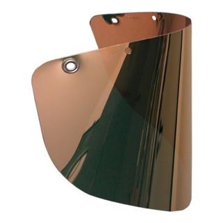 Schutzscheibe klar,goldbedampft PC EN 166 EN 167 EN 168 EN 171 UHLEN