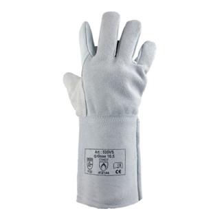 Schweißerhandschuh Gr.10,5 L.350mm EN388/407/420 Kat.II Rindnarben-/Spaltleder