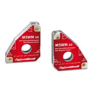 Schweißkraft Permanent-Schweißwinkelmagne MSWM 10