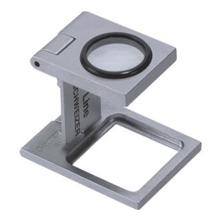 Schweizer Fadenzähler Tech-Line 8x Linsen-D.16,3mm