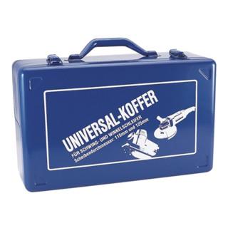 Schwingschleiferkoffer 390x240x140mm blau f.D.115/125mm Stahlblech