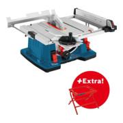 Scie sur table Bosch GTS10XC et support de travail GTA6000