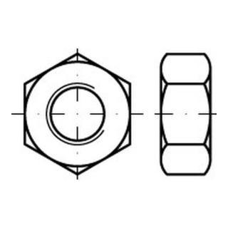 Sechskantmutter DIN 555/ISO 4034