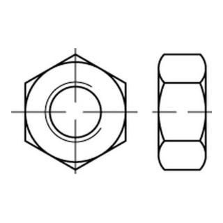 Sechskantmutter ISO 4033 M 20 x 2,5 Stahl blank