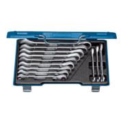 Set de clés mixtes à cliquet Gedore 7 R-012 12 pièces ouverture de clé 8-19 mm CV dans coffret en acier