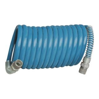 Set de tuyaux spiralés D. int. 10 mm D. ext. 12 m L. 10 m polyamide EWO