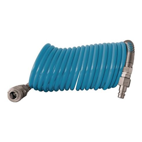 Set de tuyaux spiralés D. int. 10 mm D. ext. 12 mm L. 10 m polyamide raccord DN