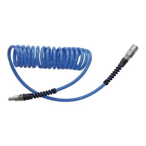 Set de tuyaux spiralés D. int. 8 mm D. ext. 12 mm L. 10 m polyuréthane raccord D