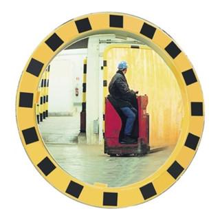 Sicherheits-/Verkehrsspiegel D.600mm Beobachterabstand 11m f.innen u.außen