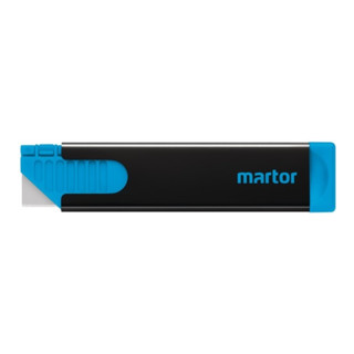 Sicherheitskartonmesser Secumorm Handy L.100mm B.7,8mm H.25,5mm f.re./li. Martor