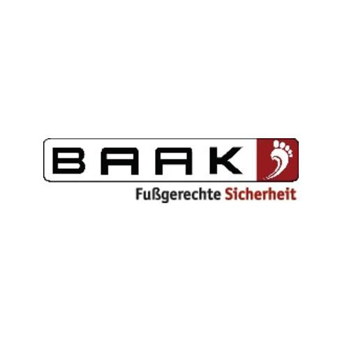Sicherheitsschuh Brook Gr.43 schwarz/rot Leder S3 SRC HRO EN20345 BAAK