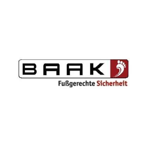 Sicherheitsstiefel Brooklyn Gr.45 schwarz/rot Leder S3 SRC HRO EN20345 BAAK