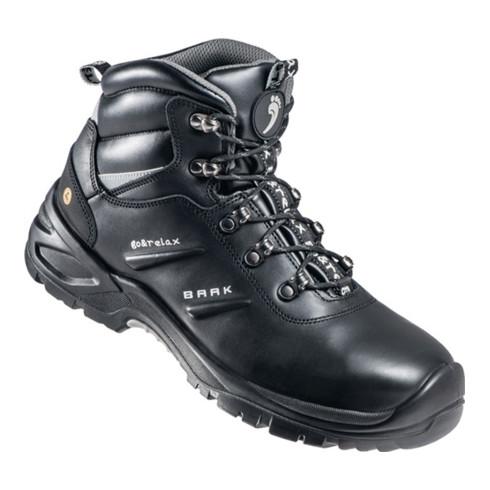 Sicherheitsstiefel Harrison Gr. 43 schwarz Leder S3 SRC ESD EN20345