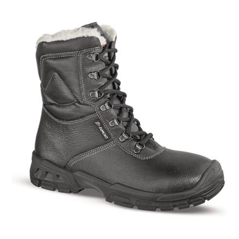 Sicherheitsstiefel Knut Gr.46 schwarz Leder S3 CI SRC EN20345 Aimont