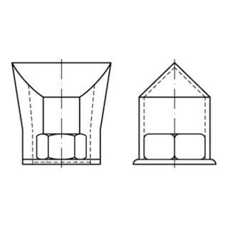 Sicherungsmuffen für HV-Schr. Stahl M 20 S