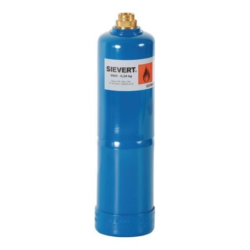 Sievert Propangasflasche 2000 340g