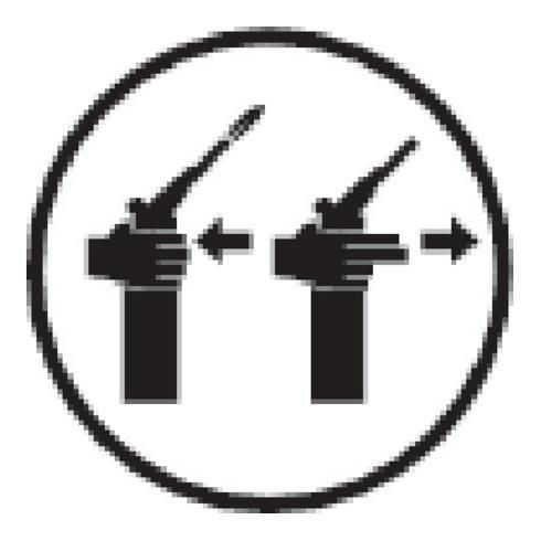 Sievert Servicekoffer Dach Metaljet Metaljet-Kopf,Brenner8710