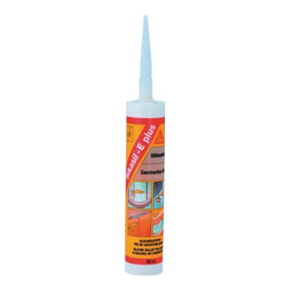 Silicondichtstoff Sikasil® E plus transp. 300 ml Kartusche SIKASIL