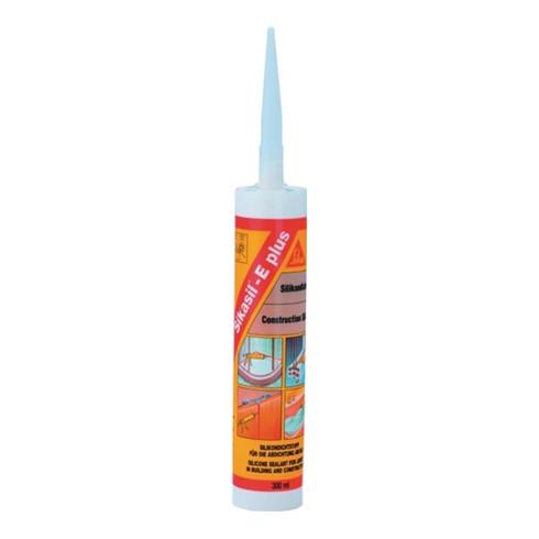 Silicondichtstoff Sikasil® E plus weiß 300 ml Kartusche SIKASIL
