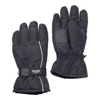 Nordwest Skihandschuhe wasserabweisend mit Thinsulate schwarz