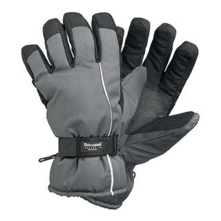 Skihandschuhe wasserabweisend mit Thinsulate schwarz