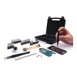 Smartphone-Reparaturset 4-910 47-tlg.Ku.-Koffer BERNSTEIN