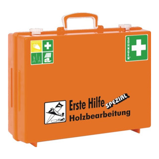 Söhngen Erste-Hilfe-Koffer Holzbearb. DIN13157 plus Erw. 400x300x150mm