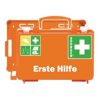 Söhngen Erste-Hilfe-Koffer kl. DIN13157 260x170x110ca.mm ABS-Kunststoff orange