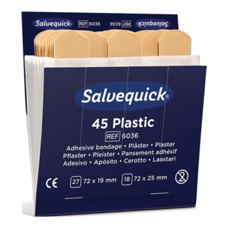 Söhngen Pflasterstrip Salvequick wasserfest Inhalt 45 Stück