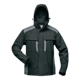 Softshelljacke Posen Gr.M schwarz/grau 100% PES