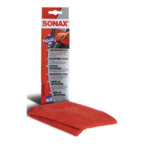 SONAX MicrofaserTuch Außen- der Lackpflegeprofi für das Auftragen von Produkten
