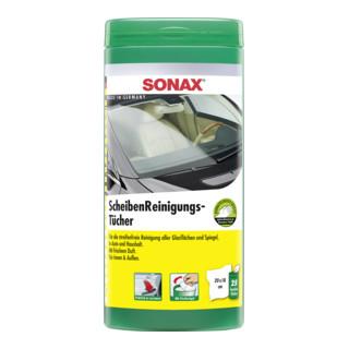 SONAX ScheibenReinigungsTücher Box für verschmutzte Scheiben